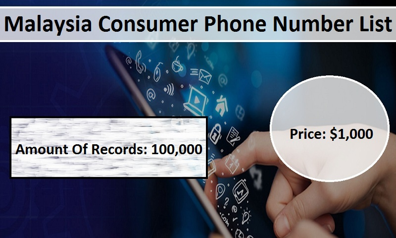 Malaysia Consumer Phone Number List