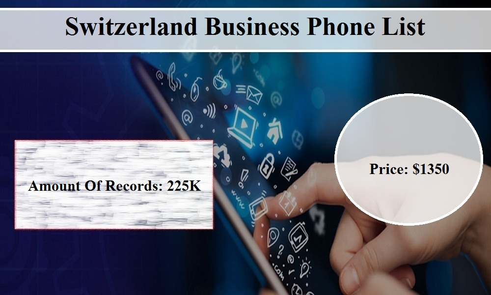 Switzerland B2B Phone Number Lists