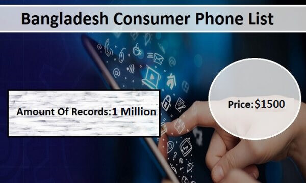 Bangladesh Phone Number List