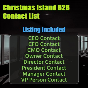 Christmas Island Business Contact List