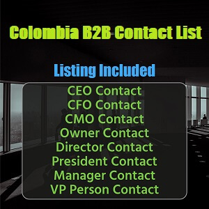 Colombia B2B Contact List